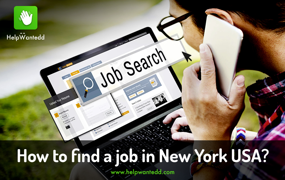How to find a job in New York USA