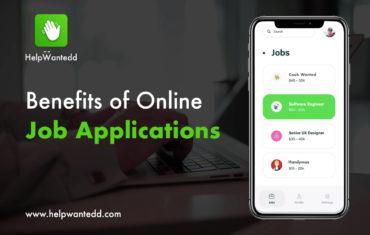 Benefits of Online Job Applications