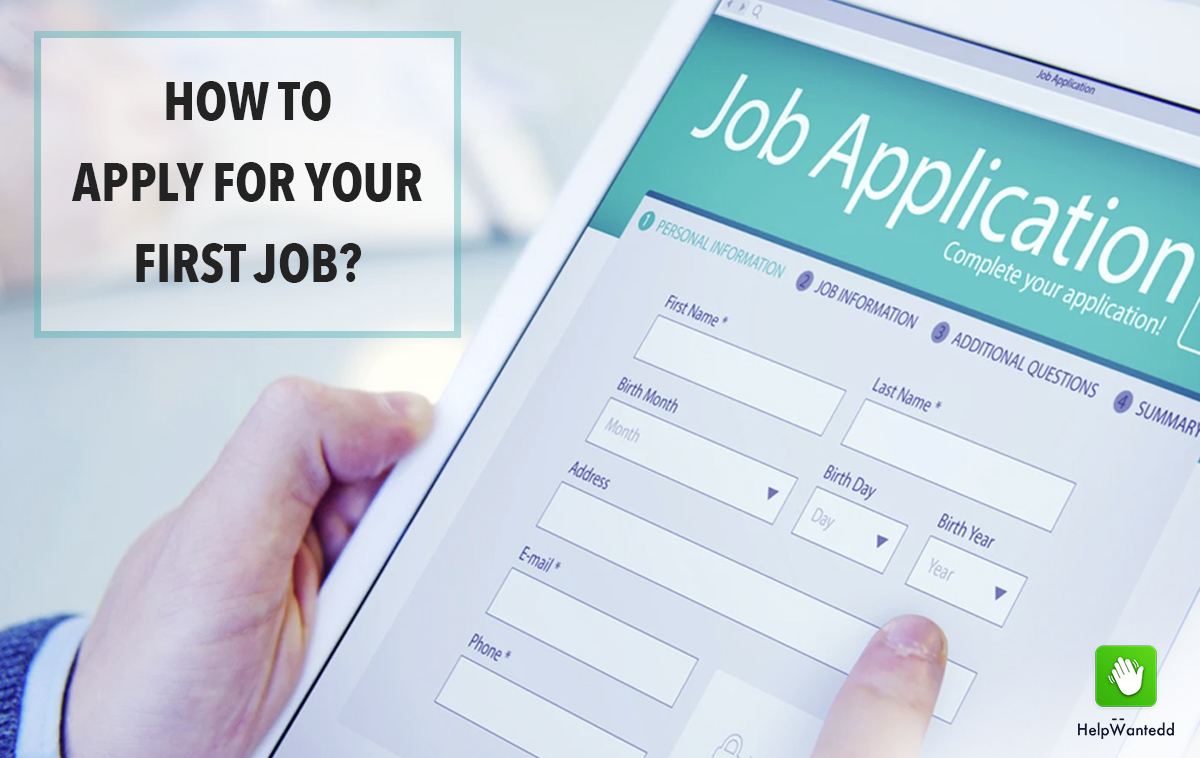 How to Apply for your First Job